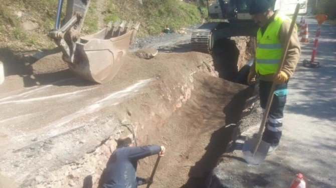 Kozlu'nun Altyapı Sıkıntıları Çözülüyor