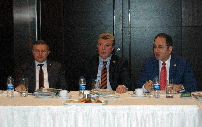 Kuzey Ankara Kalkınma Ajansı, AK Parti Batı Karadeniz Bölge Milletvekilleri İle Biraraya Geldi