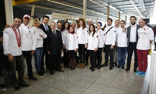 Türk Aşçılar Londra'da Tarih Yazdı