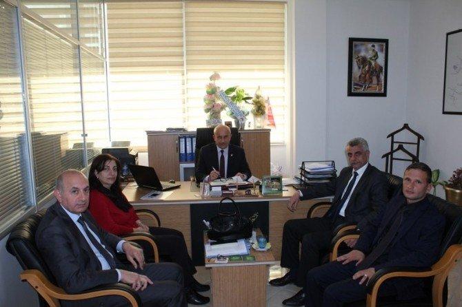 Maski'den Alaşehir Ve Sarıgöl Belediyeleri'ne Ziyaret