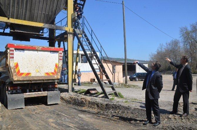 Sinop'ta Asfalt Sezonu Açıldı