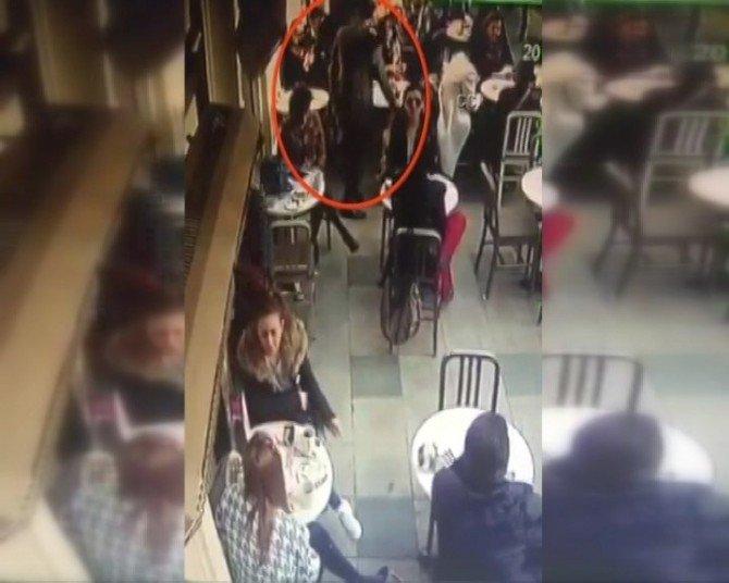 Nişantaşı'nda Ünlü Cafedeki Silahlı Saldırı Anı Kamerada