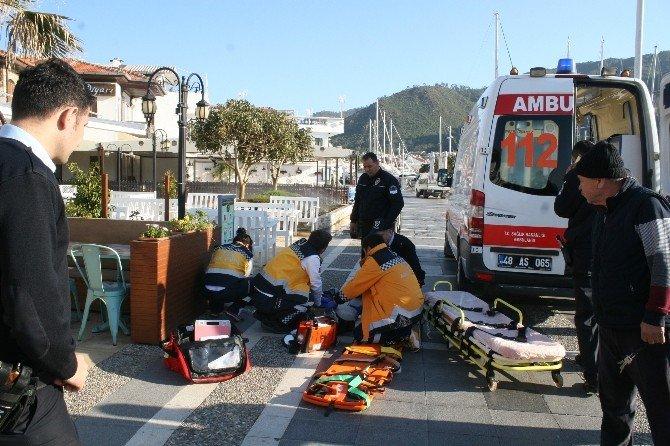 Limanda Kalp Krizi Geçiren Adam Kurtarılamadı