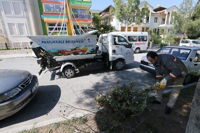 Pamukkale'de Çöp Taksi Dönemi