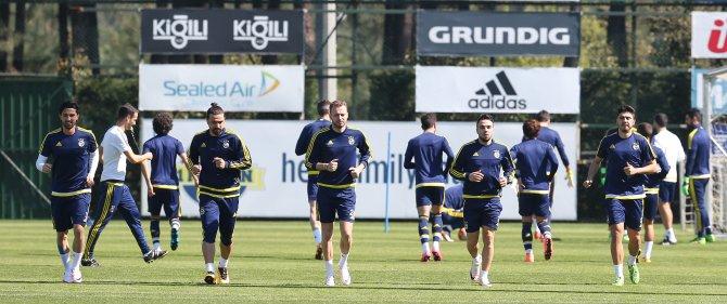 Fenerbahçe, Osmanlıspor maçının hazırlıklarını sürdürdü