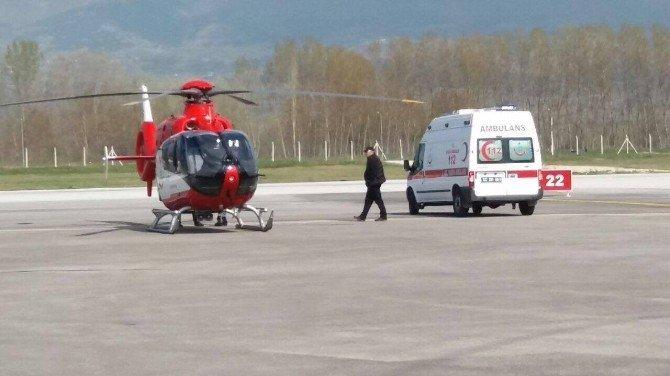 Ambulans Helikopter Aydın İçin Havalandı