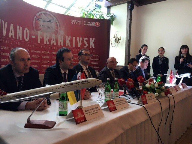 THY, Ukrayna'daki 7. Noktaya İlk Uçuşunu Yaptı