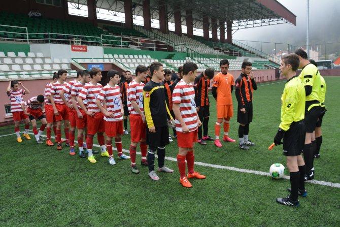 U17 Türkiye Futbol Şampiyonası Artvin'de başladı
