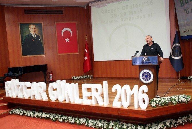 """""""Gücünü Rüzgardan Alan""""lar YTÜ'de Buluştu"""