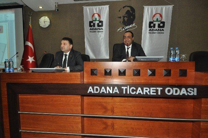 Büyükşehir Yöneticileri ATO'da Sorun Dinledi