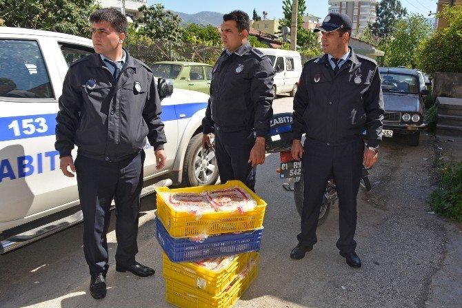 Kozan'da Kaçak Suriye Ekmeği Operasyonu