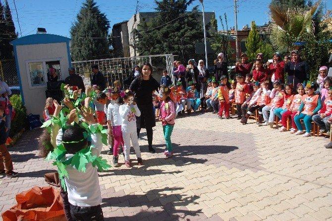 Minik Öğrenciler Orman Haftasını Kutladı