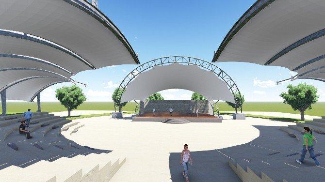 Alaplı'ya Bin 500 Kişilik Amfi Tiyatro