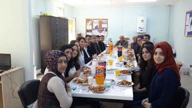 Başkan Metin Oral, Öğretmenlerle Buluştu