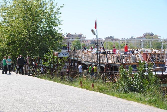 Manavgat Irmağı'nda 2016 yılı bot ve tekne turları başladı