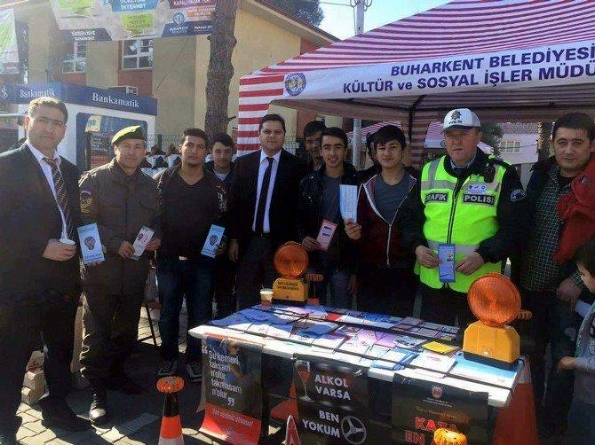 Buharkent'te 'Güvenli Trafik İle Hayatta Kal' Projesi Başlatıldı