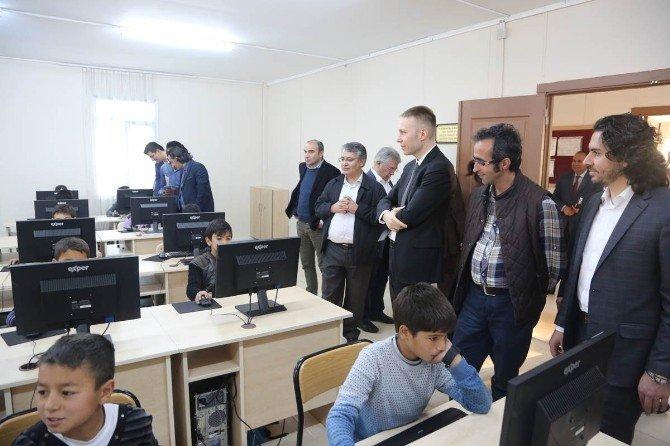 Bagiyap Akademisyenler Topluluğu Valiliği Ziyaret Etti