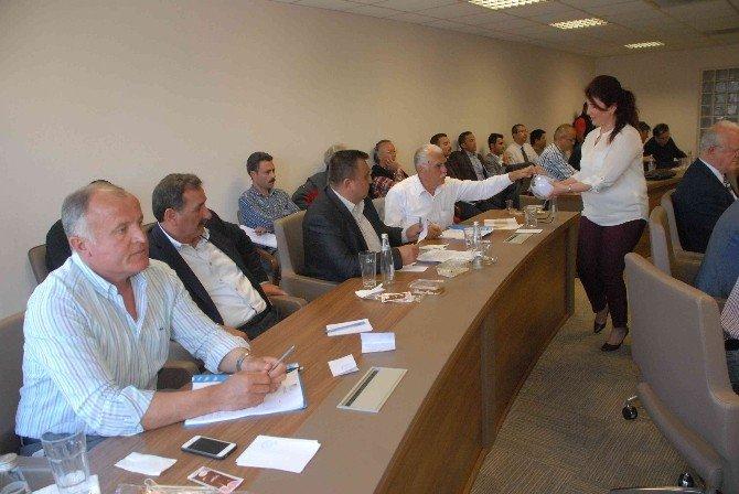 Fethiye'de Saatcı'nın Faaliyet Raporu Oy Birliği İle Kabul Edildi