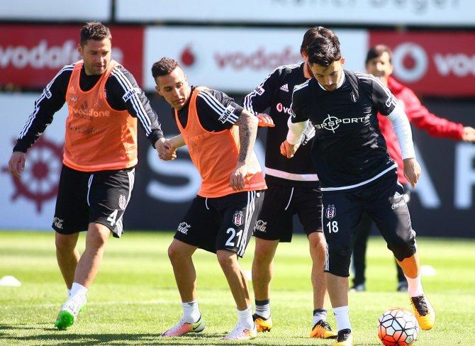 Beşiktaş, Kasımpaşa maçının hazırlıklarını sürdürdü