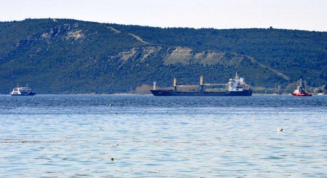 Çanakkale Boğazı'nda bir gemi arızalandı