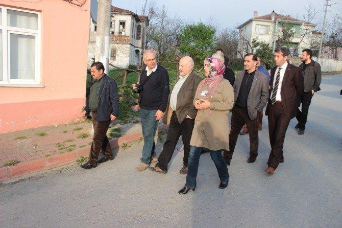 Çekül Üyeleri Alaçam'ı Ziyareti Etti