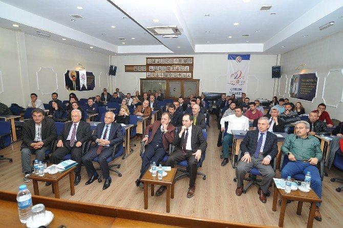 Çorum TSO'dan Mesleki Yeterlilik Bilgilendirme Toplantısı