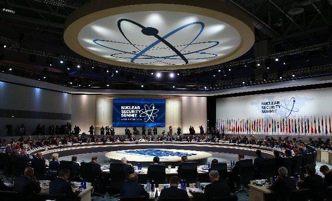 Cumhurbaşkanı Erdoğan, Nükleer Güvenlik Zirvesi'ne Katıldı