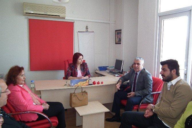 Aydın CHP'den Agc Başkanı Semra Şener'e Ziyaret