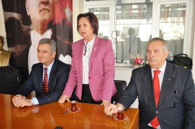 İzmir CHP'den Ödemiş'e Yakın Takip