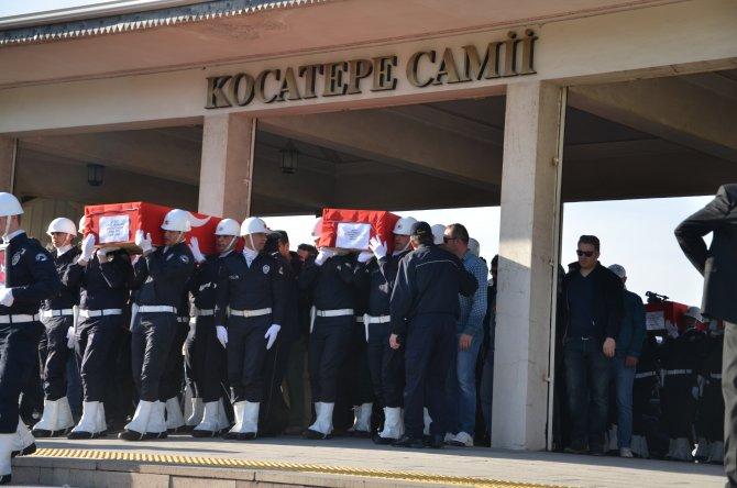 Şehit 4 Özel Harekat Polisi, Kocatepe'de son yolculuğuna uğurlandı