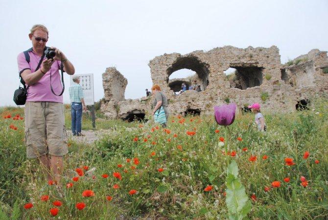 Side Antik Kent'te 2016 yılı eko turları başladı