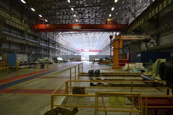 Gazi Metal Karasu Üretim Tesisi Kapısını Basın Mensuplarına Açtı