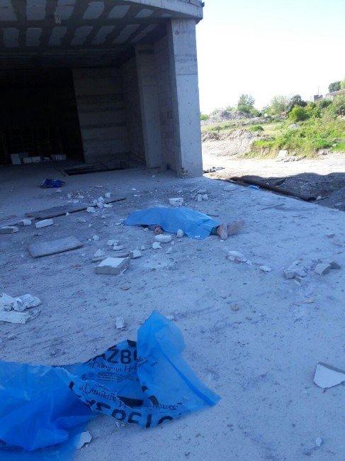 İnşaattan Düşen Suriyeli İşçi Öldü