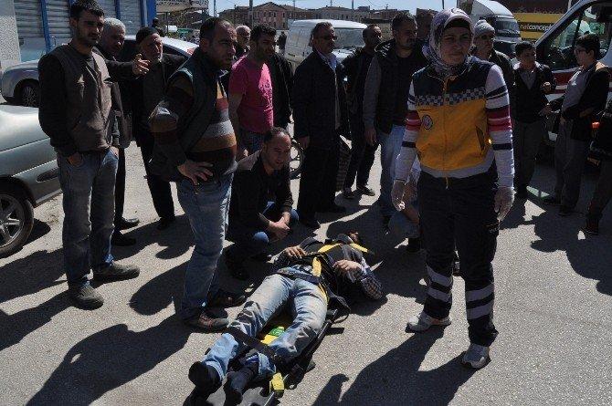 Üç Ayrı Kazada Üç Kişi Yaralandı