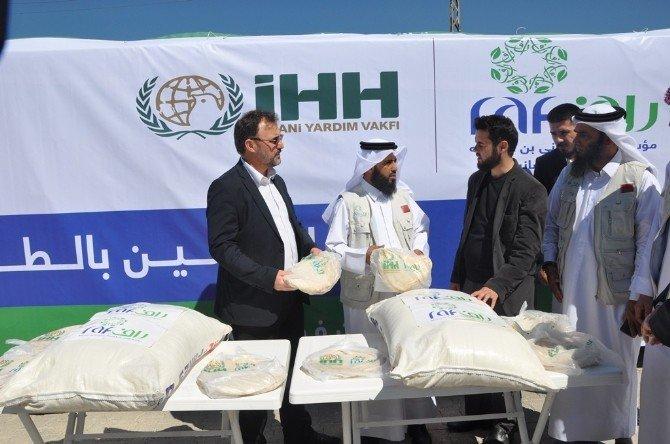 İHH'dan Suriye'ye Bin 325 Ton UN