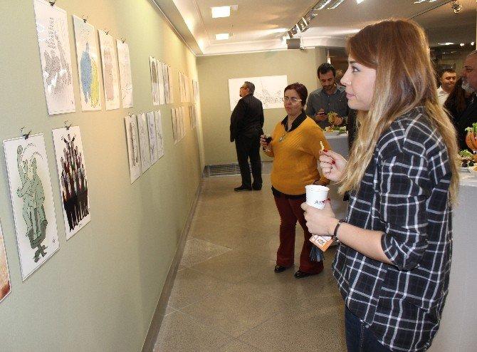 Tan Oral'ın ''Çizgileri'' İküsag'da Sanatseverleri Bekliyor