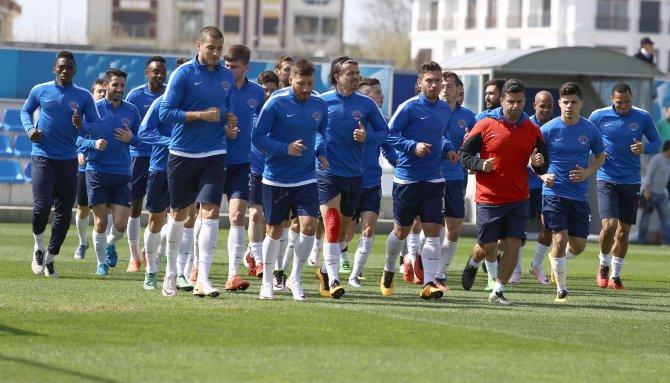 Kasımpaşa, Beşiktaş maçı hazırlıklarını sürdürdü