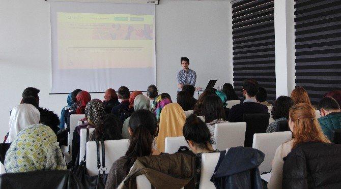 """Erciyes Teknopark Sera Kuluçka Programı Kapsamında Girişimci Adaylarına """"İlham Kaynakları Eğitimi"""" Düzenlendi"""