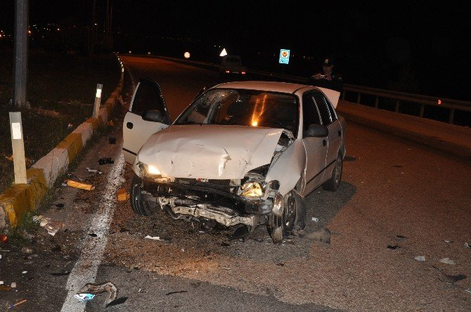 Kırkağaç'ta Kaza: 6 Yaralı