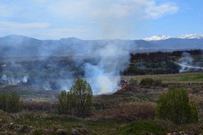 Malatya'da Yangın