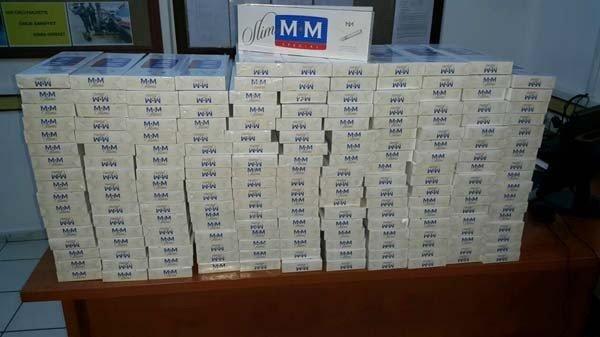 Milas'ta 2500 Paket Kaçak Sigara Ele Geçirildi