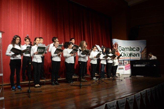Öğrenciler Çanakkale Şehitlerini Andı