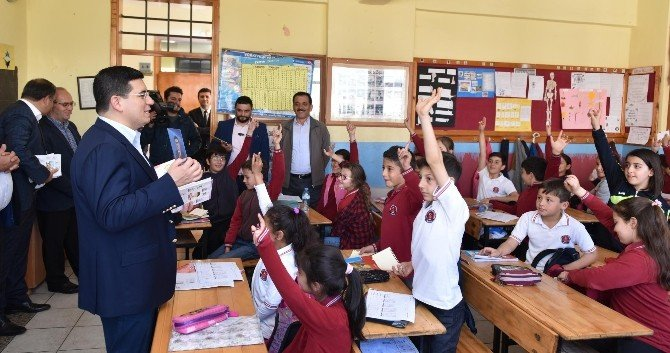 Tütüncü'den Öğrencilere Ziyaret