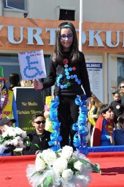 Atayurt Öğrencileri Tiyatro Gününü Kostüm Etkinliği İle Kutladı