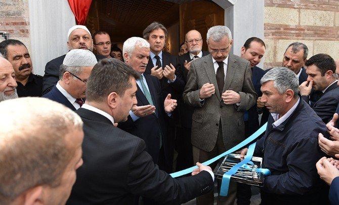 500 Yıllık Hacı Ferhat Camii Yeniden Hizmete Açıldı
