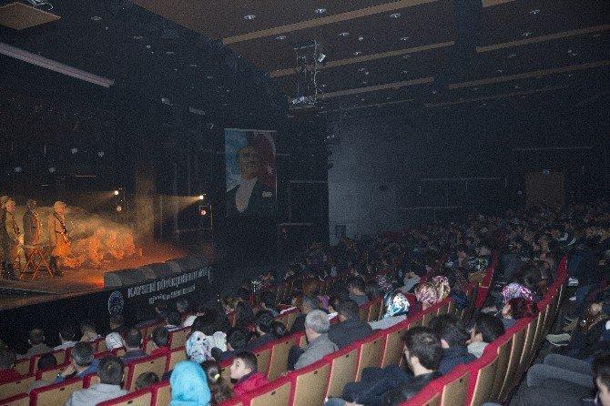 Büyükşehir'den Çanakkale Destanına Özel Tiyatro