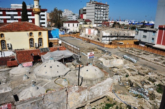 500 Yıllık Tarihi Taşhan, Aslına Döndürülüyor