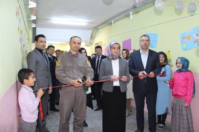 Sarıcakaya'da Kütüphane Açılışı