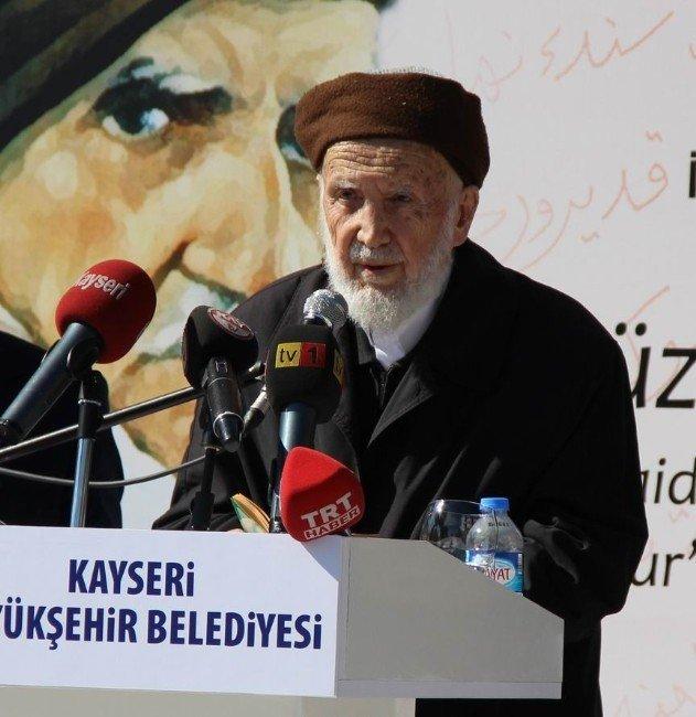 Kayseri'de 'Bediüzzaman Sergisi' Açıldı