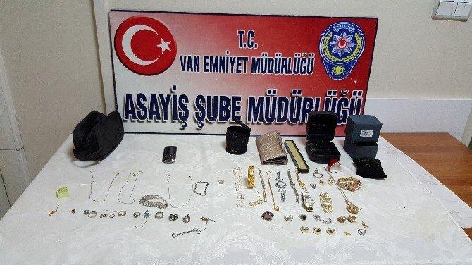 Van'da Hırsızlık